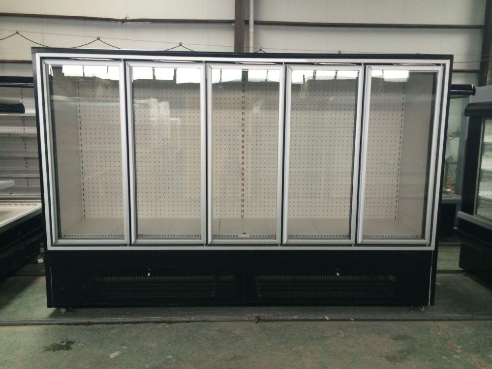 Sanye new design display cooler type supermarket upright for 1 glass door refrigerator