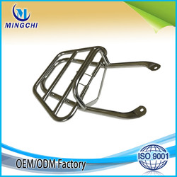 OEM Chrome motorcycle carrier luggage carrier for Vespa