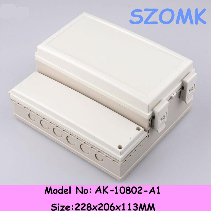 double-deck waterproof electrical box cover size 228*206*113mm 9.0*8.1*4.4 inch