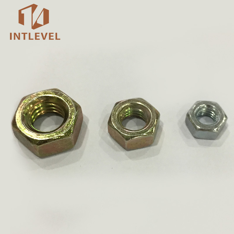 Profession customized DIN934 Hex Nut m8 for railway fastening