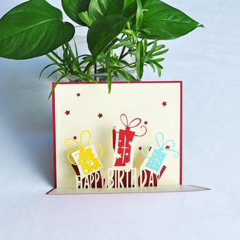 Cheap 3d Happy Birthday Greeting Card Buy 3d Card3d Birthday Card