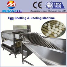 Egg cooking and peeling machine price, chicken eggs boiler and peeler machines