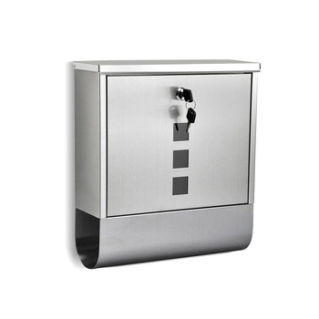 Stainless Steel Lockable Letter Box, Mail Post Box