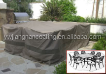 300D polyester waterproof outdoor furniture cover