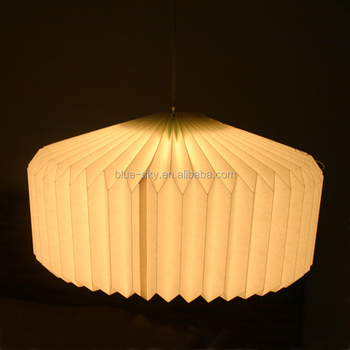 Handmade Paper Lamp Pendant Lamp Covers Bedroom Party Light Decoration Origami  Lamp Shade