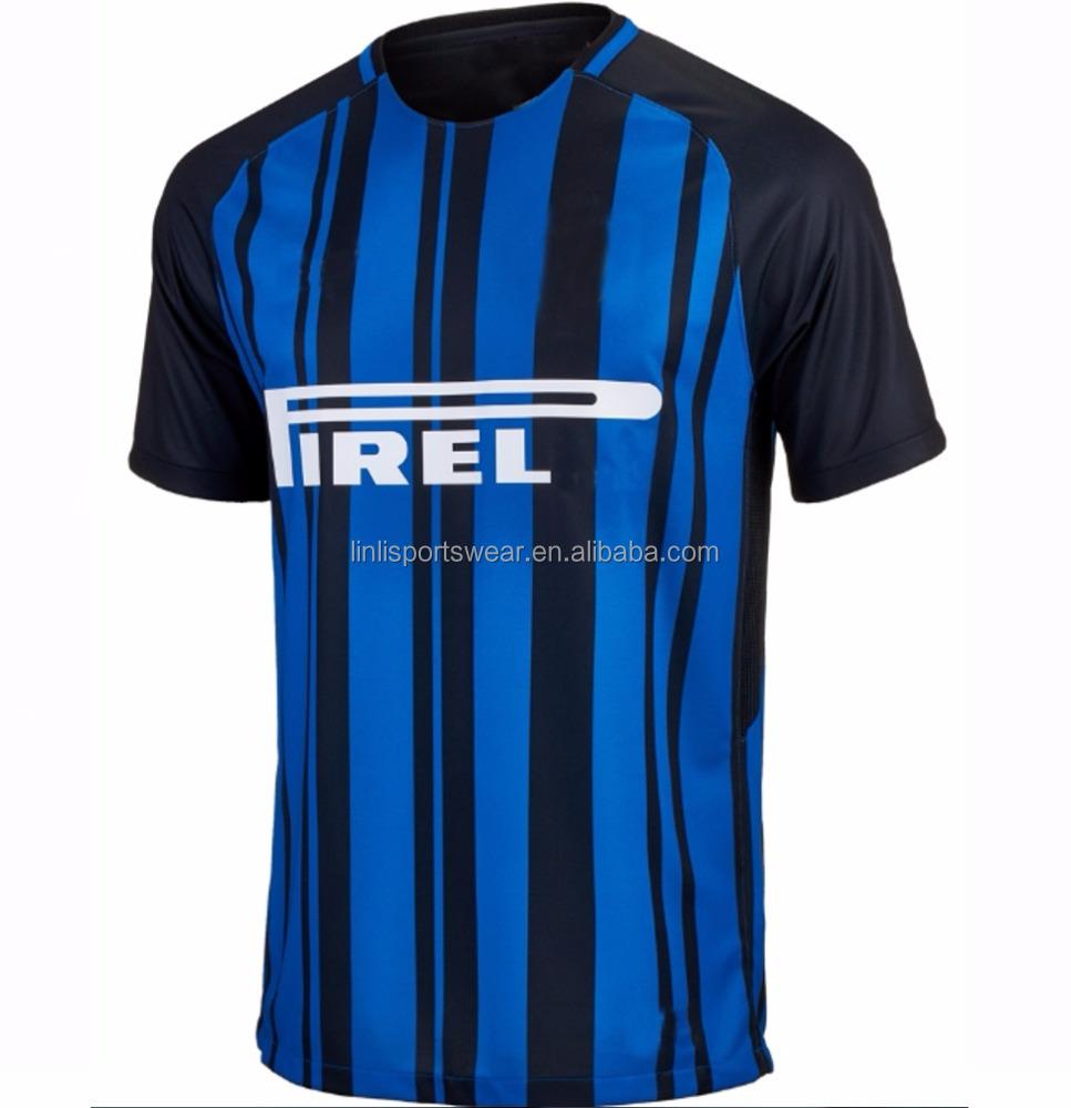 watch 9e333 85c18 2017-2018 Cheap Inter Nation Soccer Jerseys To Milan Match Home And Away  Football Shirts Magliette Di Calcio - Buy Inter Milan Soccer Jerseys,Custom  ...