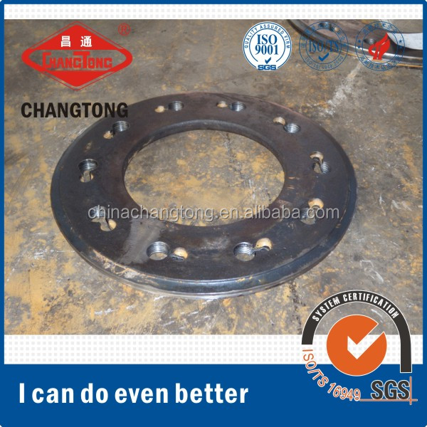 Pipe pile end plate blank manufacturer for sale