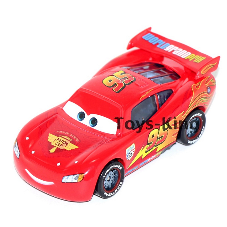 buy mc queen no95 of pixar cars 2mini alloy toy car155 scale diecast metal model cute toys for children kids gifts in cheap price on malibabacom