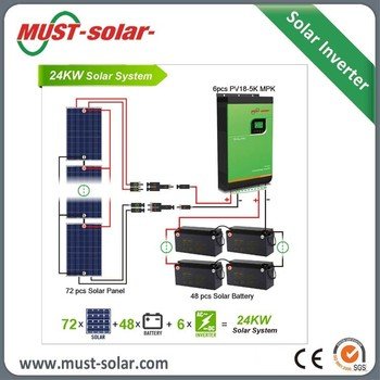 Home Design 5kva Off Grid Solar Energy Storage System With Battery Pv  System Solar Electricity