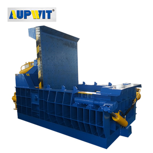Finely processed hydraulic baler scrap metal baling press machine for sale