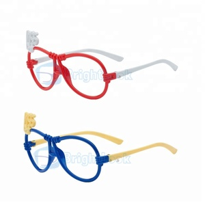 Newest model cheapest plastic kids children glasses