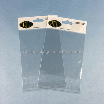 Flat Self Adhesive Opp Bag Definition With Higher Quality Printing