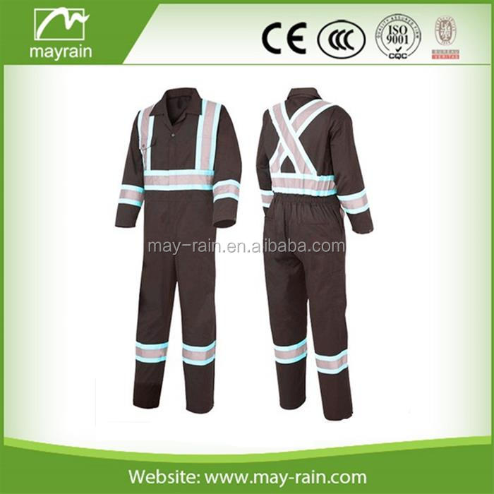 fire retardant coverall safety coverall fluo yellow safety working coverall suit reflective working clothes