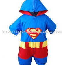 2013 LATEST DESIGN SUPERMAN ROMPERS FOR BABIES