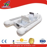 Customized alu rib used rigid inflatable boats for sale