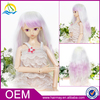 Japanese style cheap long purple white ombre doll hair wig