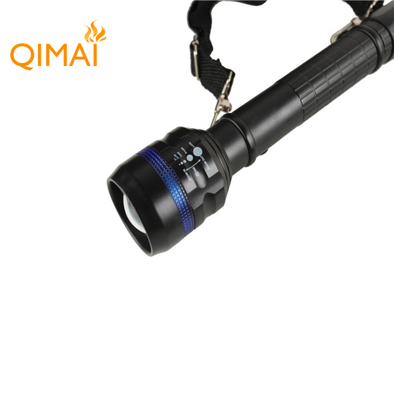 Wholesale super bright torch light portable outdoor camping rechargeable led flashlight
