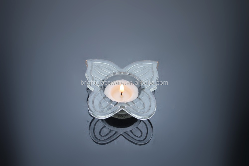 Butterfly Glass Candle Holder, Butterfly Glass Candle Holder ...
