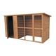China Pet House Big Dog Cage Kennel In Hot Sale DFD012