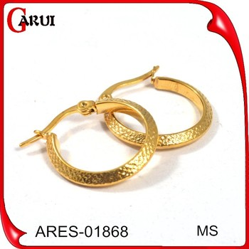 Earrings Saudi Gold Jewelry Modern Design Earring Gold Earrings