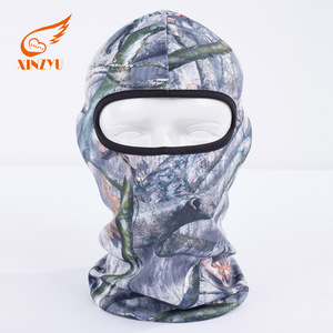 Outdoor Tactical Hunting Full Face Mask Tight Camo Balaclava