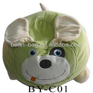 Children Bean Bag Chair Dog Shape