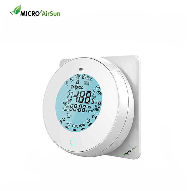 Central Air Conditioner Wall Mounted Wireless Thermostat
