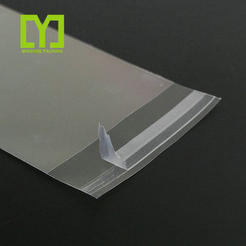wholesale opp packaging bag long opp self adhesive bag plastic opp bag