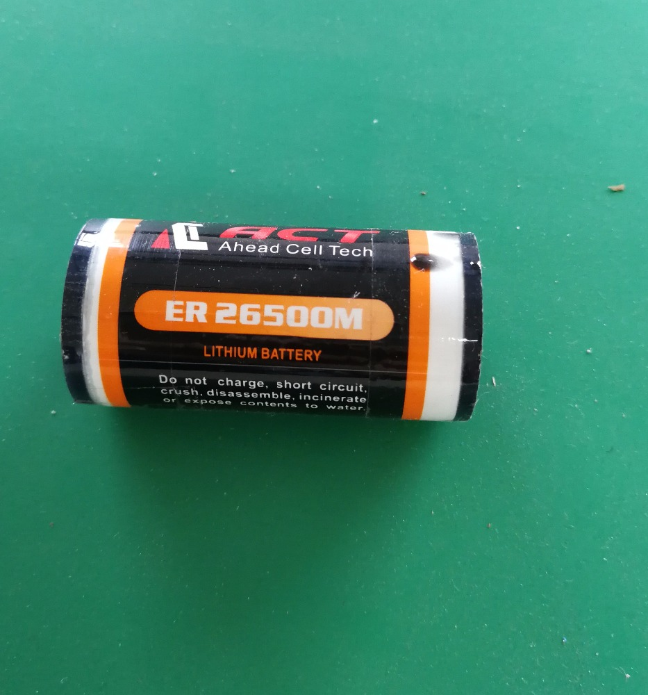 Er 26500 C Size Battery Prima Batteries For E Scooter Water Flow Meter