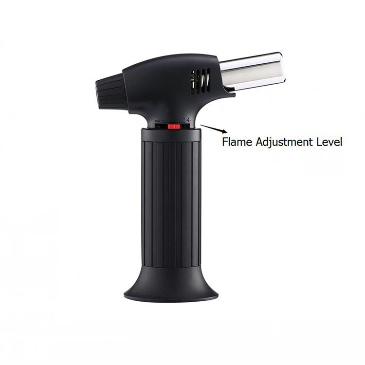 Portable Bs-640 Micro Mini Novelty Heating Culinary Butane Gas Flame Big Lighter Torch Lighter
