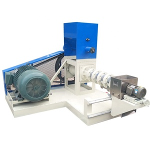 Fish food making machine floating fish feed extruder