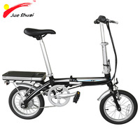 New model 14 inch cheap mini folding electric bike with lithium battery (Mini)