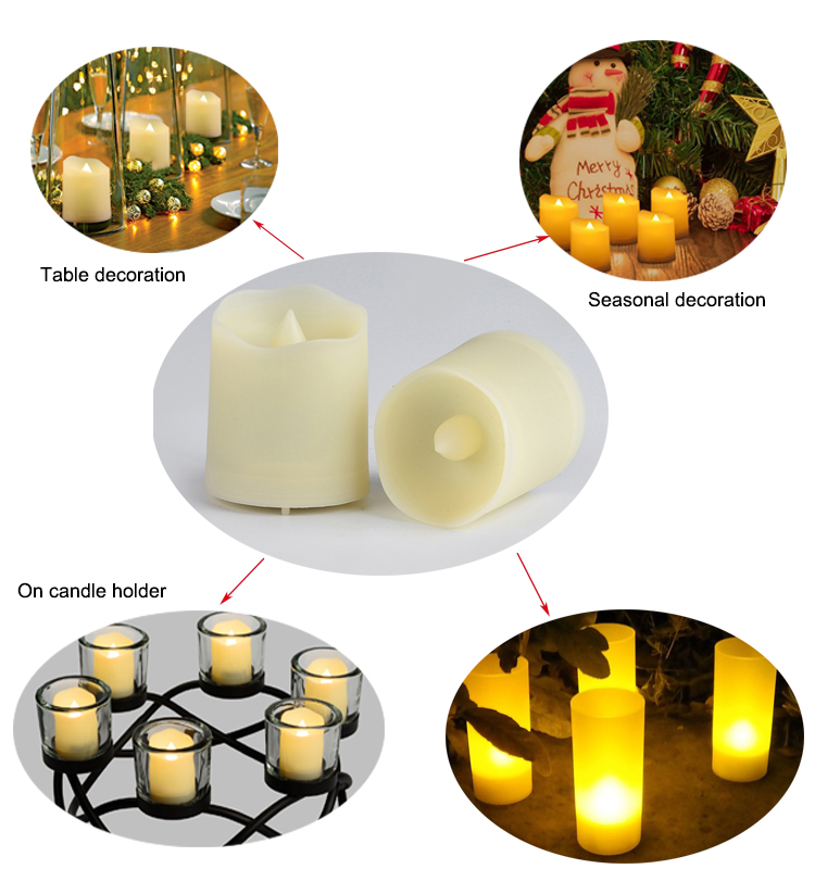 Hot sell Customized Private Module Tealight Candle 12pcs/unit 1.5inch