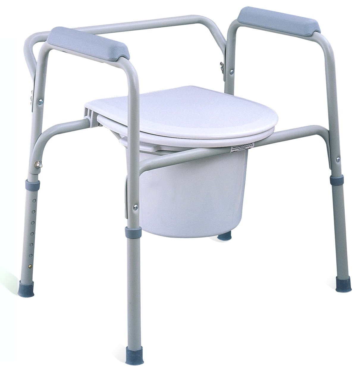 Economical Steel Three-in-one Commode Chair Without Wheels - Buy ...