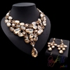 indian bridal crystal jewelry sets new design wedding jewellery set Meaningful Best Gift