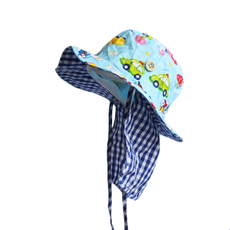 0ca040328 Cartoon Printed Summer Kids Baby Flap Sun Protection Hat - Buy Baby Flap  Sun Hat,Kids Flap Sun Protection Hat,Kids Hats For Summer Beach Flap  Product ...