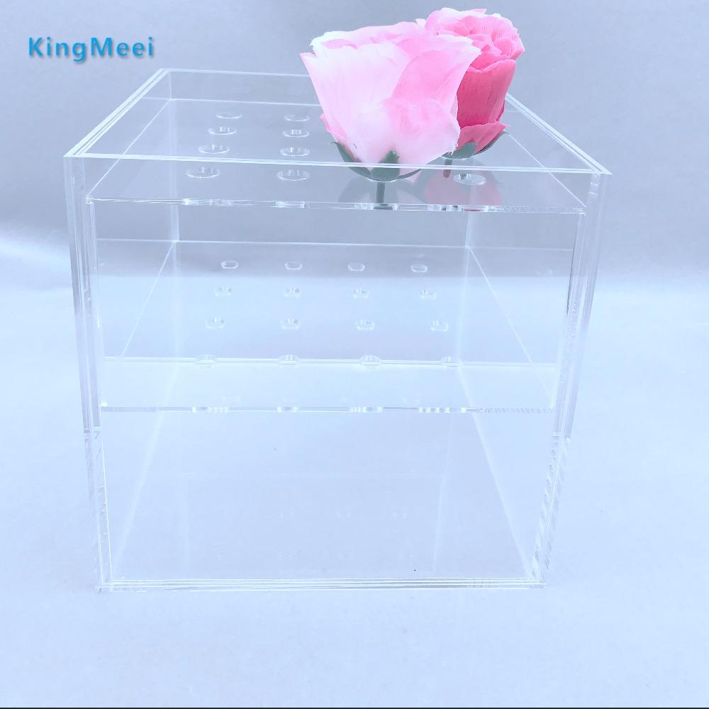 Finden Sie Hohe Qualität Klaren Acryl Box Für Blume Hersteller und ...