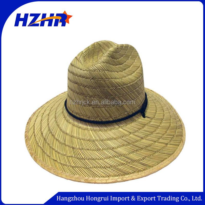4bae251c574e2 encomenda por atacado chapéu de palha com banda elástica Mercado de  Austrália custom de surf
