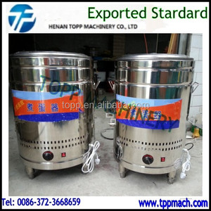 Small Stainless Steel Egg Cooking and Boiling Machine