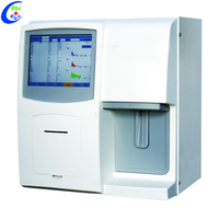 Laboratory Equipment CBC Blood Test Machine 2 Channel 3 Part 23 Parameter Open System Fully Automated Hematology Analyzer