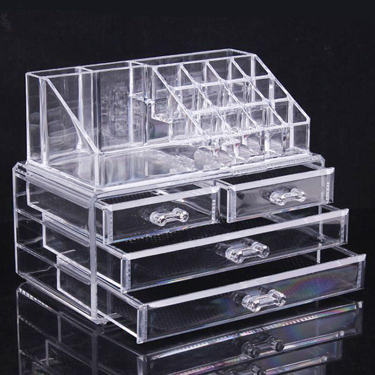 Plexiglass Makeup Organizer Plexiglass Makeup Organizer Suppliers - Cosmetic organizer countertop
