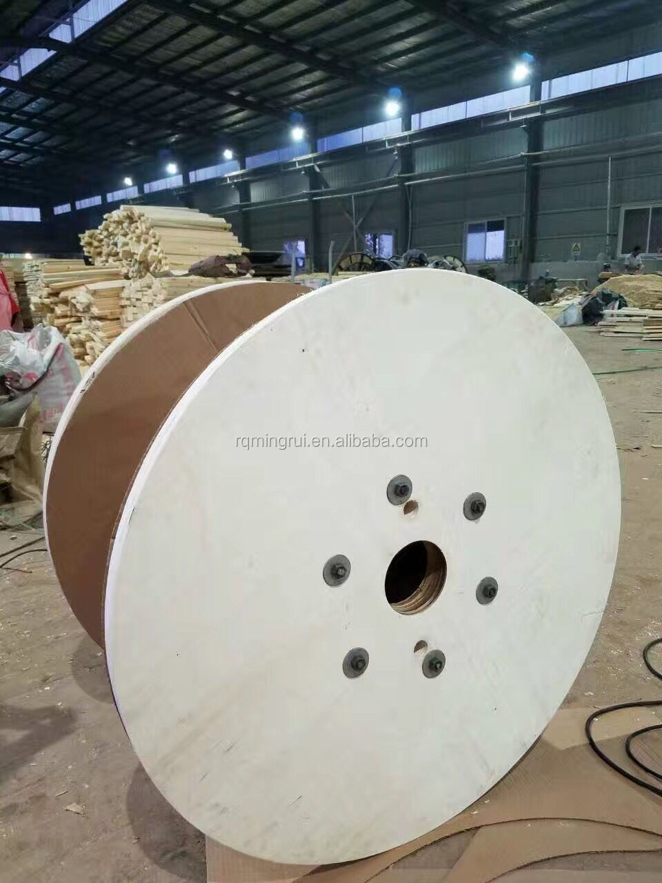 small plywood cable reel drum