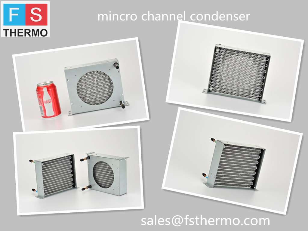 water cooled evaporative mini refrigerator condenser heat changer