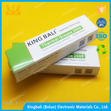 High insulating 1.0W/m.k coating conductivity thermal silicone grease