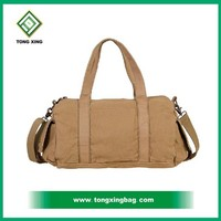 inexpensive attractive environmental friendly fashion cotton canvas gym bag