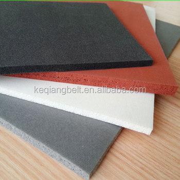 Silicone Foam Sponge Rubber Sheet
