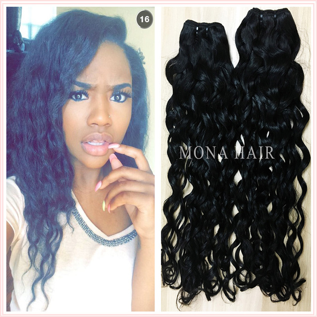 Buy cheap china wavy brazilian hair weave products products find brazilian water wave hair mona hair new product wavy hold for long time after wash best pmusecretfo Choice Image