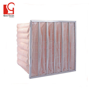 Nonwovens house designs asbestos bag filter