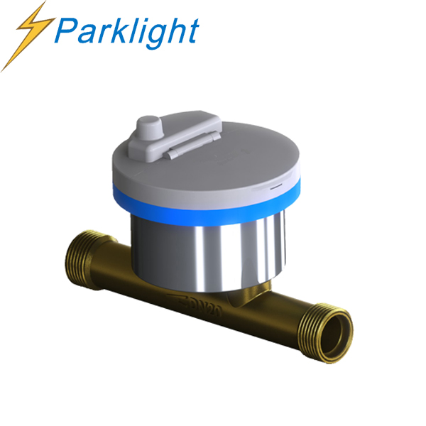 Alibaba 1.5% accuracy magnet stop water meter stable perfermance