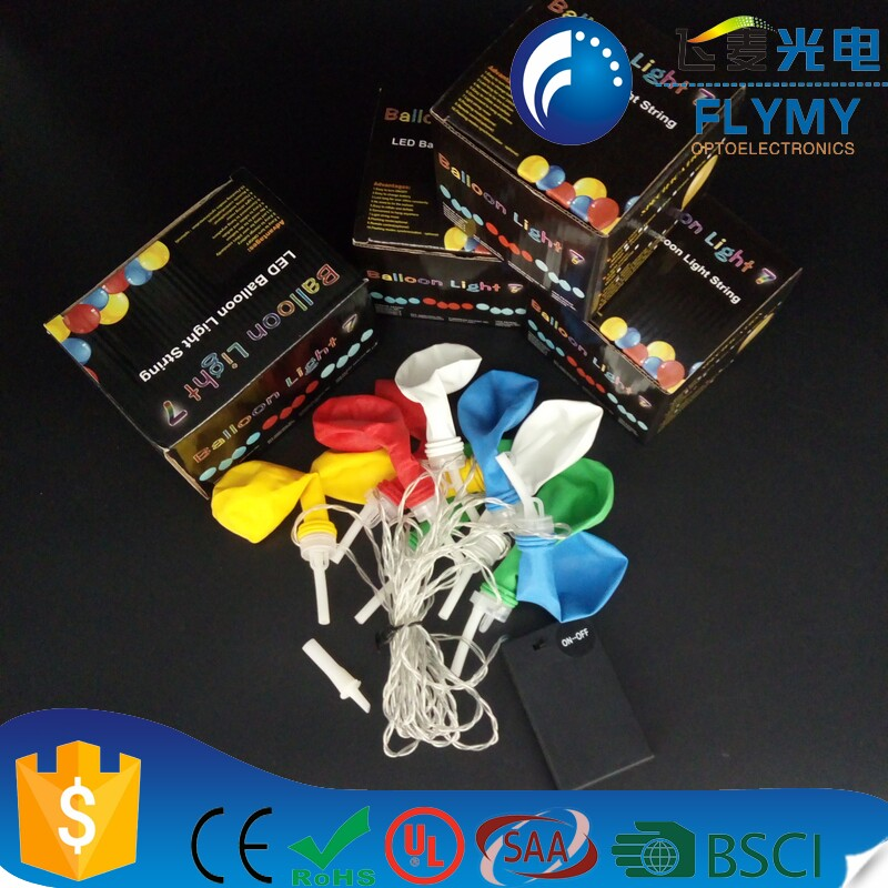 Alibaba new product LED light up party ballon string best for decoration with CE&ROHS